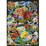 Victorian Scrap Pictures [7111] - Flower Baskets - ON SALE!