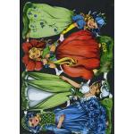 Victorian Scrap Pictures [7113] - Flower Children - ON SALE!
