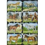 Victorian Scrap Pictures [7149] - Horses - ON SALE!