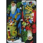 Victorian Scrap Pictures [7151] - Tall Santa - ON SALE!
