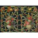 Victorian Scrap Pictures [7225] - Flowers & Baskets - ON SALE!