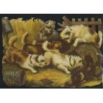 Loose Victorian Scrap [5043] - Dogs - ON SALE!