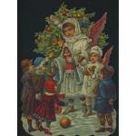 Loose Victorian Scrap [5068] - Christmas - ON SALE!