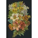 Loose Victorian Scrap [5075] - Floral Bouquet - ON SALE!