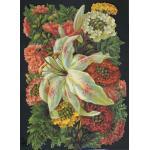 Loose Victorian Scrap [5084] - Flowers - ON SALE!