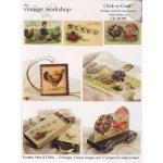 VW - Click 'n Craft CD - Roosters, Hens & Chicks [VW301] - ON SALE!
