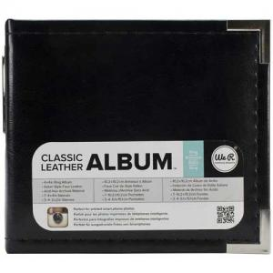 We R Memory Keepers Instagram Classic Leather Album - Black