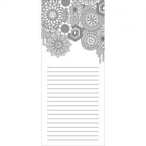 Wellspring Coloring Notepad - Glam