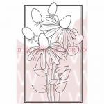 Woodware Clear Magic Singles Stamp - Cone Flower [JGS444]