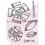 Woodware Clear Magic Singles Stamp - Doodle Daisies [FRS293]