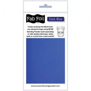 WOW! Fab Foil - Dark Blue