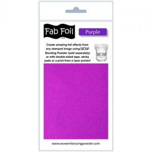 WOW! Fab Foil - Purple