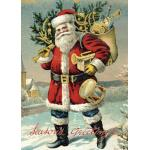 Cavallini & Co. Decorative Wrap - [HOL7] Santa Claus - Ships Separately