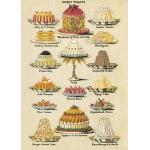 Cavallini & Co. Decorative Wrap - Sweet Treats - Ships Separately