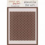 Wendy Vecchi Stencils For Art - Honeycomb [018]
