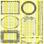 Will N Way Stamps - [8814] Journaling Frames