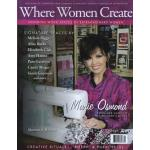 Where Women Create - Summer (May/June/July) 2009 - ON SALE!