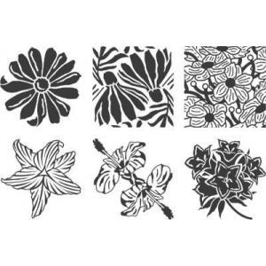 Cedar Canyon Rubbing Plates - Garden Flowers