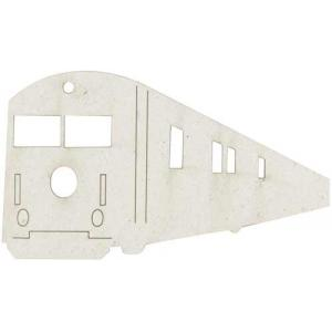FabScraps Die Cut Chipboard Embellishment - Train [014]