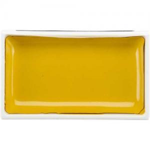 Zig Kuretake Gansai Tambi Watercolor Pan - Bright Yellow