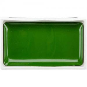 Zig Kuretake Gansai Tambi Watercolor Pan - Mid Green