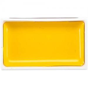 Zig Kuretake Gansai Tambi Watercolor Pan - Mid Yellow