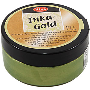 Viva Decor Inka Gold 62.5 Gram Jar - Green Yellow [906]