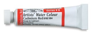 Winsor & Newton Artists' Water Colours - 5ml Tube, Permanent Sap Green - Image 2