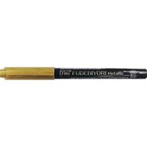 Zig Kuretake Fudebiyori Metallic Brush Pen - Violet [124] - Image 2